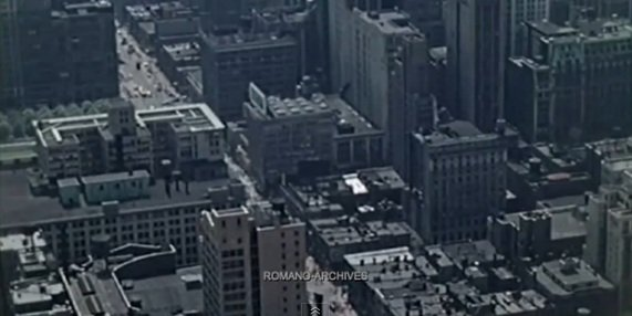 """Featured image for """"Full Colour Movie Of New York In 1939"""""""