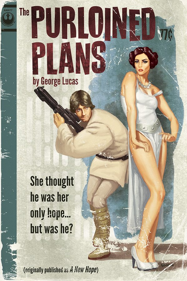 """Featured image for """"What If George Lucas Was A Pulp Fiction Writer?"""""""